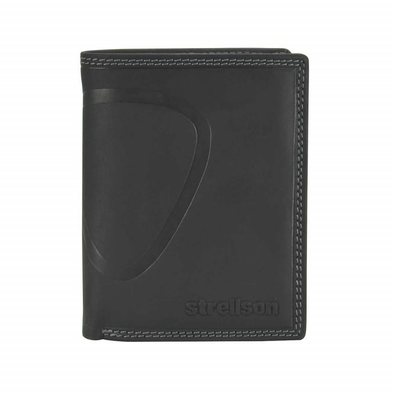 Geldbörse Baker Street Billfold V8, Farbe: schwarz, braun, Marke: Strellson, Bild 1 von 1