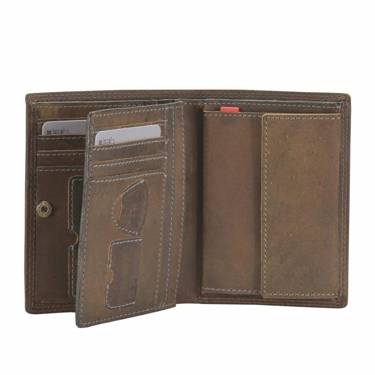Geldbörse Baker Street Billfold V8 Brown, Farbe: braun, Marke: Strellson, EAN: 4006053044455, Abmessungen in cm: 10.0x13.0x3.0, Bild 2 von 2