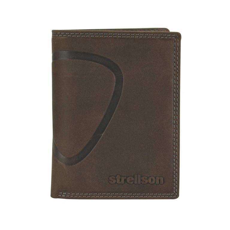 Geldbörse Baker Street Billfold V8 Brown, Farbe: braun, Marke: Strellson, EAN: 4006053044455, Abmessungen in cm: 10.0x13.0x3.0, Bild 1 von 2