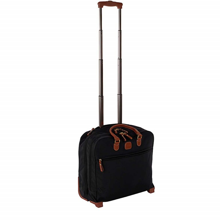Pilotenkoffer X-Bag & X-Travel Black, Farbe: schwarz, Marke: Brics, EAN: 8016623788050, Abmessungen in cm: 40.5x36.0x16.0, Bild 2 von 4