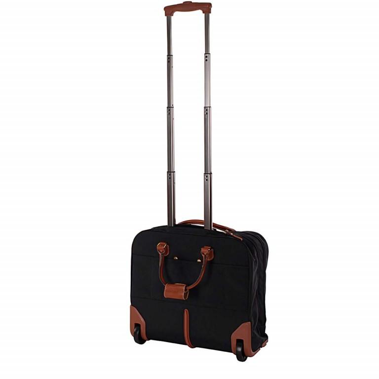 Pilotenkoffer X-Bag & X-Travel Black, Farbe: schwarz, Marke: Brics, EAN: 8016623788050, Abmessungen in cm: 40.5x36.0x16.0, Bild 3 von 4