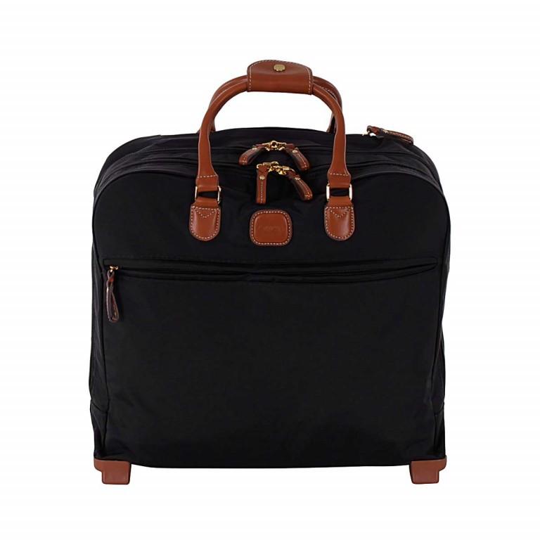 Pilotenkoffer X-Bag & X-Travel Black, Farbe: schwarz, Marke: Brics, EAN: 8016623788050, Abmessungen in cm: 40.5x36.0x16.0, Bild 1 von 4