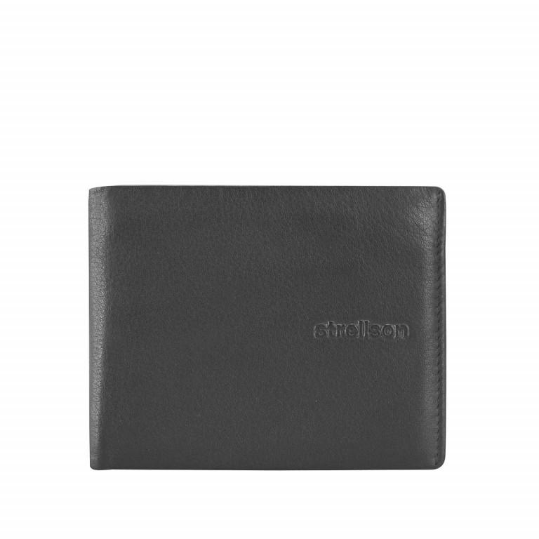 Geldbörse Carter Billfold H4 Black, Farbe: schwarz, Marke: Strellson, EAN: 4053533067510, Abmessungen in cm: 11.0x8.5x1.0, Bild 1 von 2