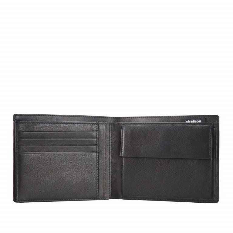 Geldbörse Carter Billfold H8 Black, Farbe: schwarz, Marke: Strellson, EAN: 4053533067565, Abmessungen in cm: 12.5x10.0x2.0, Bild 2 von 2