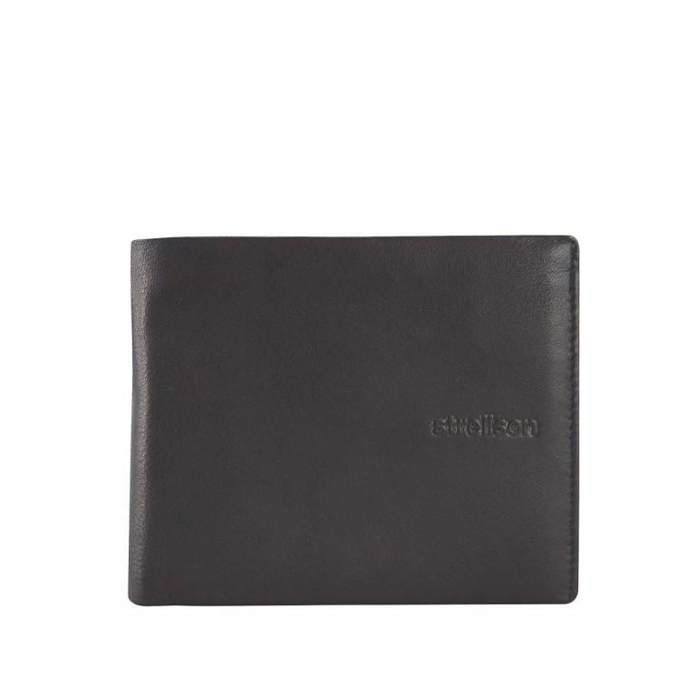 Geldbörse Carter Billfold H8 Black, Farbe: schwarz, Marke: Strellson, EAN: 4053533067565, Abmessungen in cm: 12.5x10.0x2.0, Bild 1 von 2