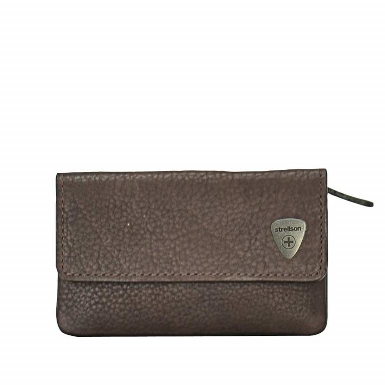 Schlüsseletui Harrison Keykase F Dark Brown, Farbe: braun, Marke: Strellson, EAN: 4053533015634, Abmessungen in cm: 11.5x6.5x3.0, Bild 1 von 1