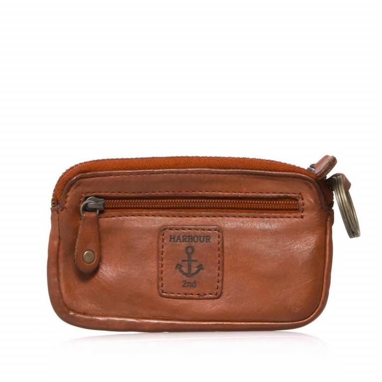Schlüsseletui Soft-Weaving Lulu B3.0525 Charming Cognac, Farbe: cognac, Marke: Harbour 2nd, EAN: 4046478025189, Abmessungen in cm: 13.0x7.5x1.5, Bild 3 von 3
