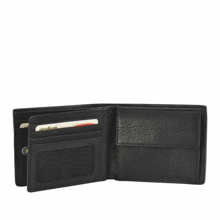 Geldbörse Harrison Billfold H8 Black, Farbe: schwarz, Marke: Strellson, EAN: 4053533015566, Abmessungen in cm: 12.0x9.5x2.5, Bild 2 von 2