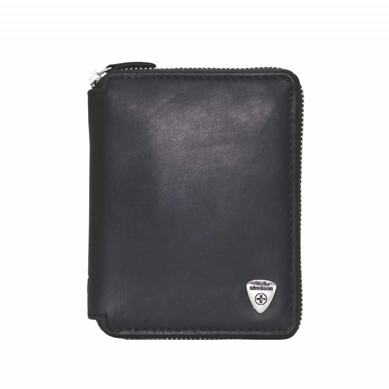 Geldbörse Harrison Billfold Z6 Black, Farbe: schwarz, Marke: Strellson, EAN: 4053533200733, Abmessungen in cm: 10.5x13.0x2.0, Bild 1 von 2