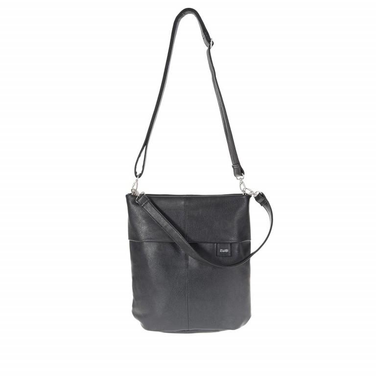 Umhängetasche Mademoiselle M12 Noir, Farbe: schwarz, Marke: Zwei, EAN: 4250257908147, Abmessungen in cm: 32.0x31.0x13.0, Bild 1 von 9