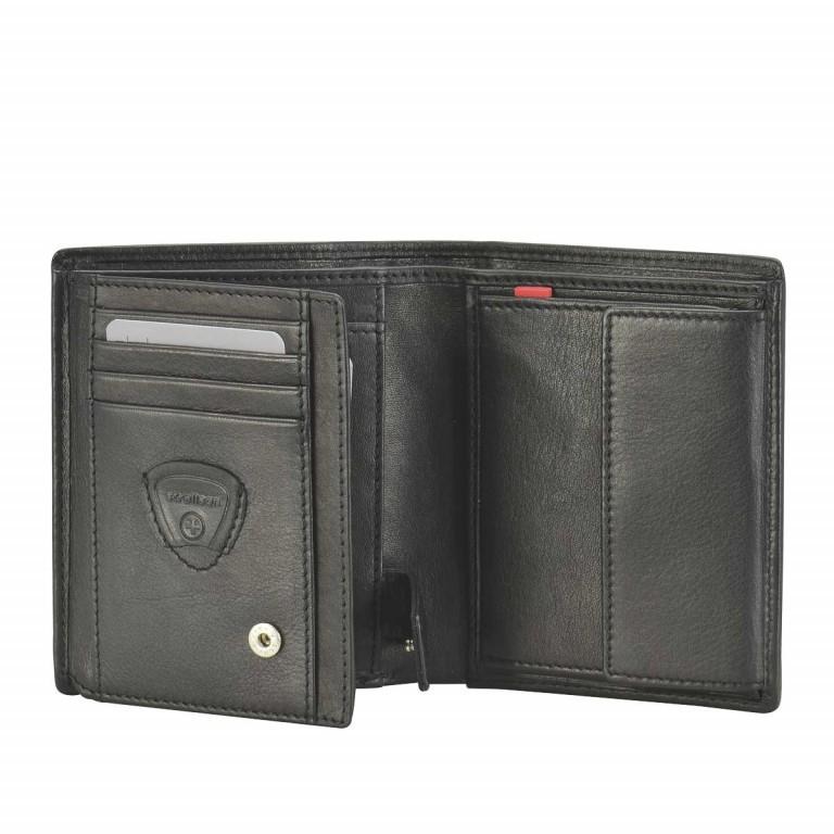 Geldbörse Oxford Circus Billfold V8 Black, Farbe: schwarz, Marke: Strellson, EAN: 4006053046626, Abmessungen in cm: 10.5x12.5x2.0, Bild 2 von 2