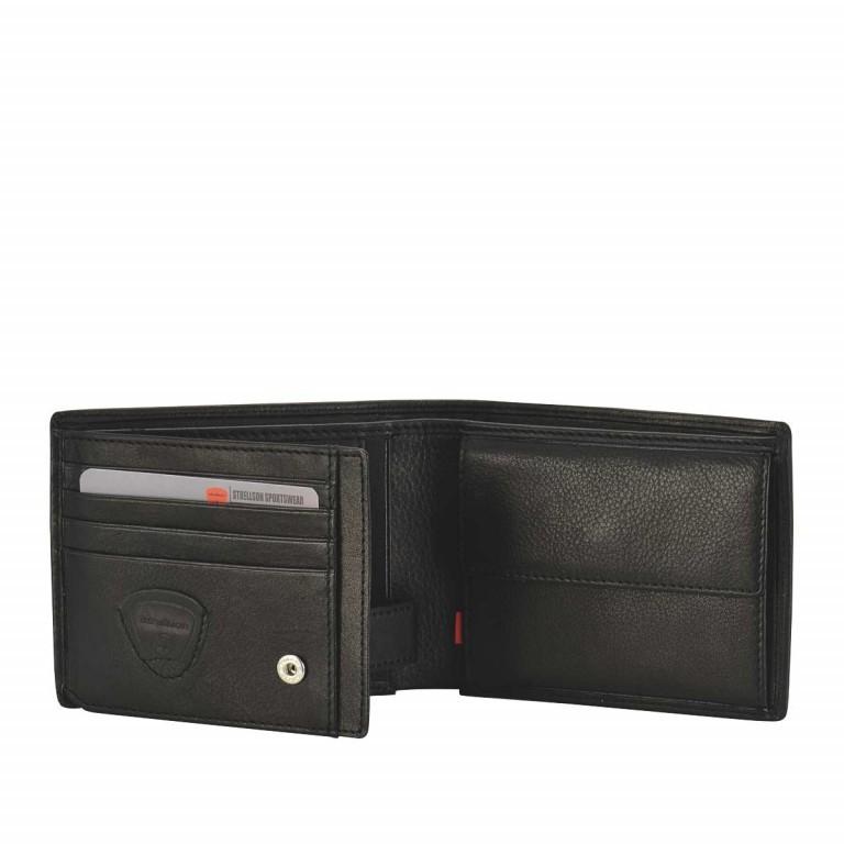 Geldbörse Oxford Circus Billfold H7 Black, Farbe: schwarz, Marke: Strellson, EAN: 4006053046572, Abmessungen in cm: 12.5x9.5x2.0, Bild 2 von 3