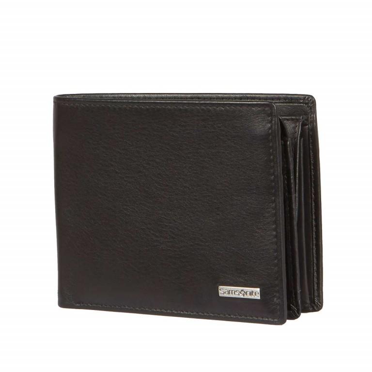 Geldbörse Derry 57648 Black, Farbe: schwarz, Marke: Samsonite, EAN: 5414847431364, Abmessungen in cm: 12.0x10.0x2.5, Bild 2 von 5