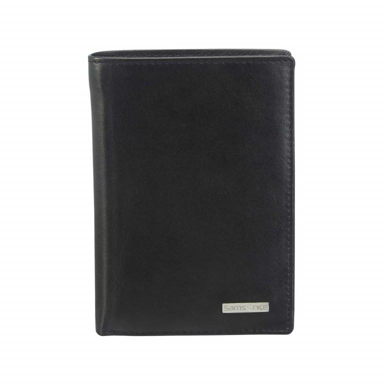 Ausweisetui Derry 57650 Black, Farbe: schwarz, Marke: Samsonite, EAN: 5414847431388, Abmessungen in cm: 5.0x9.7x1.5, Bild 1 von 4
