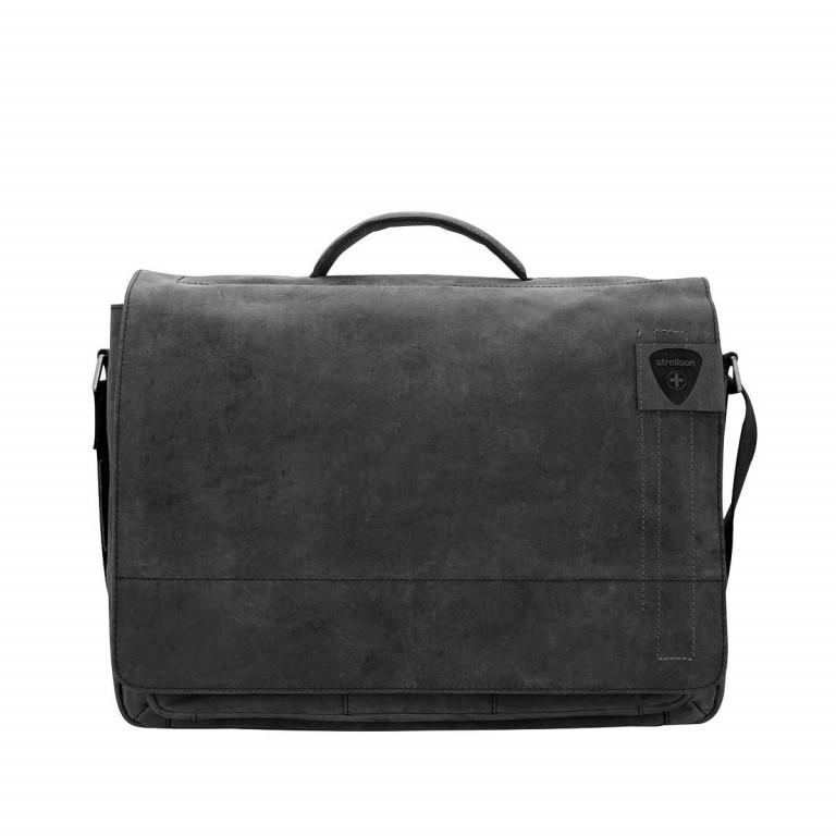 Aktentasche Richmond Briefbag L, Farbe: schwarz, braun, Marke: Strellson, Abmessungen in cm: 40.0x29.0x12.0, Bild 1 von 1