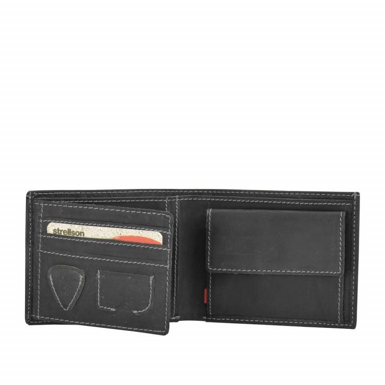 Geldbörse Richmond Billfold H6, Farbe: schwarz, braun, Marke: Strellson, Bild 2 von 2
