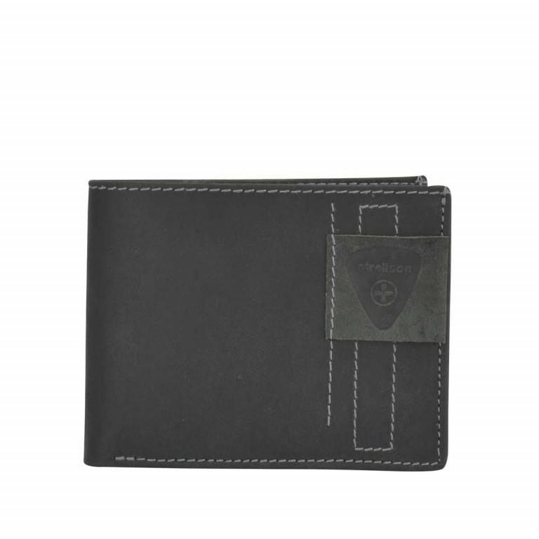 Geldbörse Richmond Billfold H6, Farbe: schwarz, braun, Marke: Strellson, Bild 1 von 2
