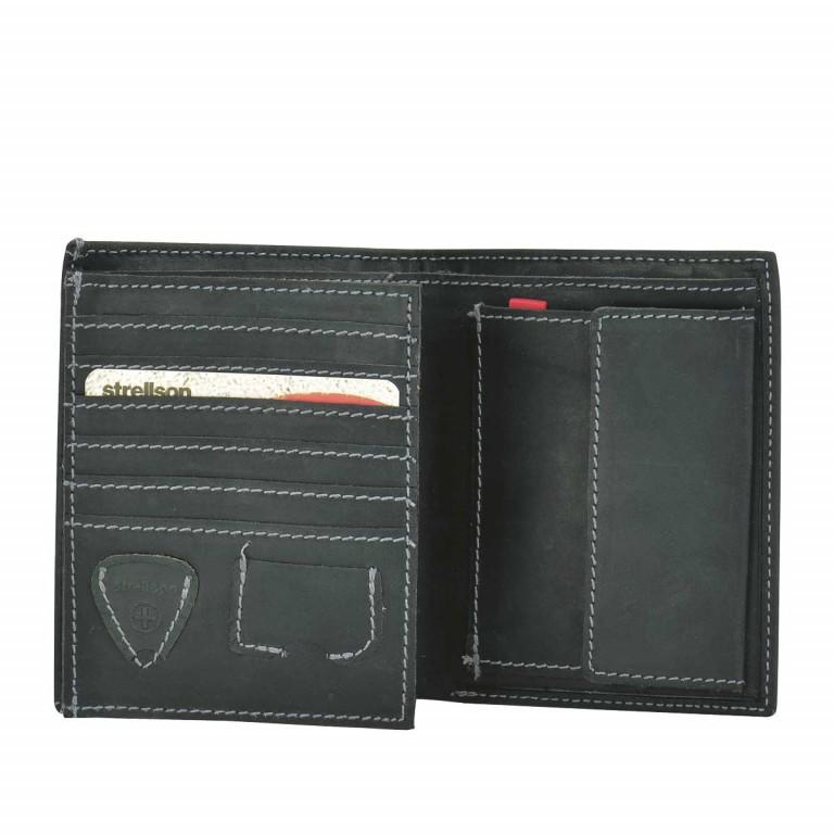 Geldbörse Richmond Billfold V12 Black, Farbe: schwarz, Marke: Strellson, EAN: 4053533141890, Abmessungen in cm: 10.5x13.0x2.0, Bild 2 von 2