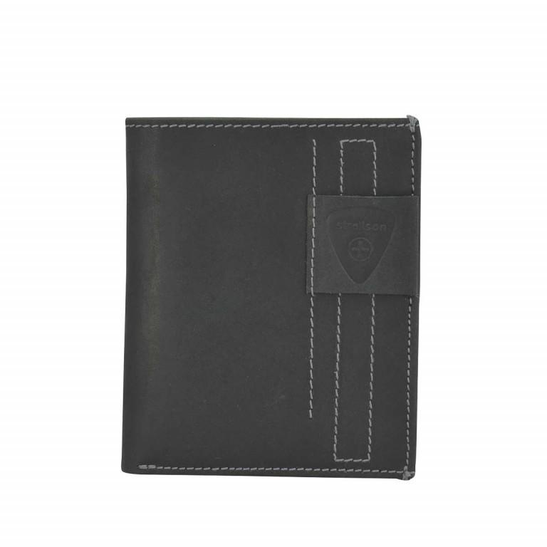 Geldbörse Richmond Billfold V12 Black, Farbe: schwarz, Marke: Strellson, EAN: 4053533141890, Abmessungen in cm: 10.5x13.0x2.0, Bild 1 von 2