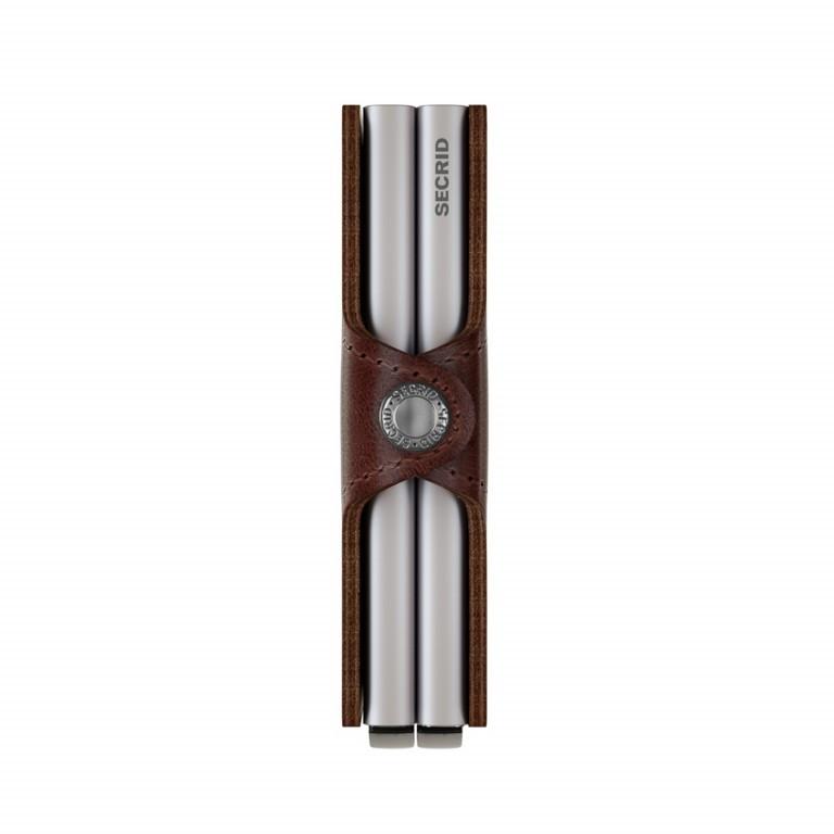 Geldbörse Twinwallet Vintage Brown, Farbe: braun, Marke: Secrid, EAN: 8718215282822, Abmessungen in cm: 7.0x10.2x2.5, Bild 3 von 3