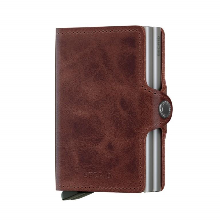 Geldbörse Twinwallet Vintage Brown, Farbe: braun, Marke: Secrid, EAN: 8718215282822, Abmessungen in cm: 7.0x10.2x2.5, Bild 1 von 3