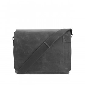 Kuriertasche Richmond Messenger L Black