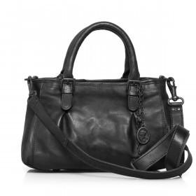 Handtasche Grandma's Luxury Club Mrs.Choco Sprinkle Black Smoke