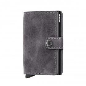 Geldbörse Miniwallet Vintage Grey Black