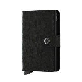 Geldbörse Miniwallet Crisple Black