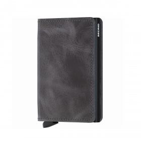 Geldbörse Slimwallet Vintage Grey Black