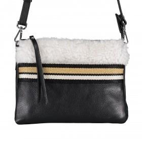 Handtasche Phoebe Bianco-Nero Bianco Nero