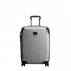 Koffer Latitude International Slim Carry On 4-Rollen 55 cm Silver