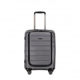 Koffer PP9 mit separatem Bürofach 55 cm Grey Metallic