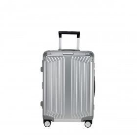 Koffer Lite-Box Spinner 55 Aluminium Silver