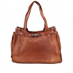 Handtasche Urania 1711-X0001 Leder Cognac
