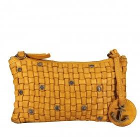 Umhängetasche / Clutch Soft-Weaving Lillen B3.4795 Oriental Mustard