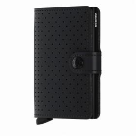 Geldbörse Miniwallet Perforated Black