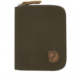 Geldbörse Zip Wallet Dark Olive