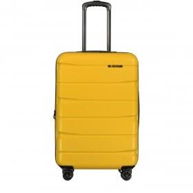 Franky ABS 13 Trolley M 4 Rollen 66cm Yellow