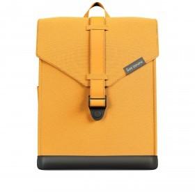 Rucksack AS02 einfarbig mit Laptopfach 15,6 Zoll Yeller Yellow