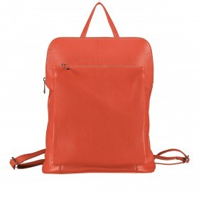 Hausfelder Rucksack Tasche I-DD-232532.D35 Dunkel Orange
