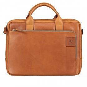 Aktentasche Hyde Park Briefbag SHZ Cognac