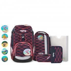 Schulranzen Pack Lumi Edition Set 6-teilig WellenreitBär
