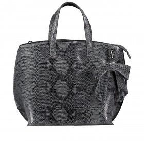 Handtasche Snake Grau