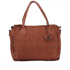 Handtasche Soft-Weaving Carolyn B3.9789 Charming Cognac