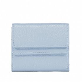 Geldbörse Amra Bradley mit RFID-Schutz Hellblau