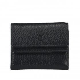 Geldbörse Amra Bradley mit RFID-Schutz Schwarz