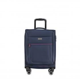 Koffer Columbus 087450 55 cm Blau