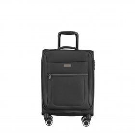 Koffer Columbus 087450 55 cm Schwarz