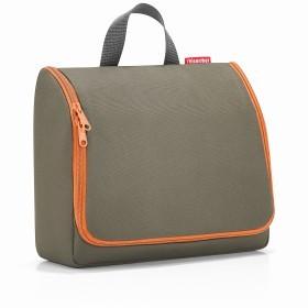 Kulturbeutel Toiletbag XL zum Aufhängen Olive Green